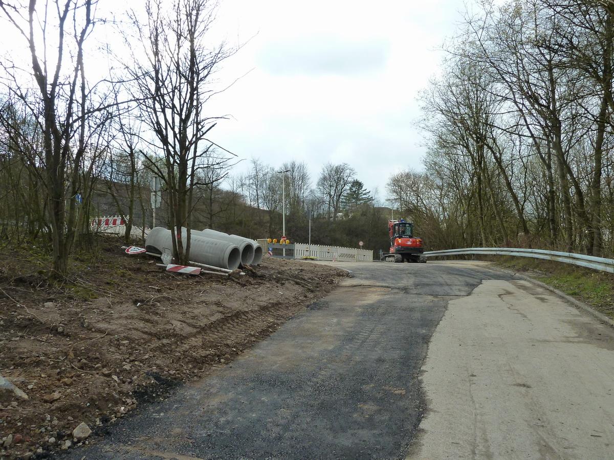 Baustelle Aufstieg Lichtscheider Straße