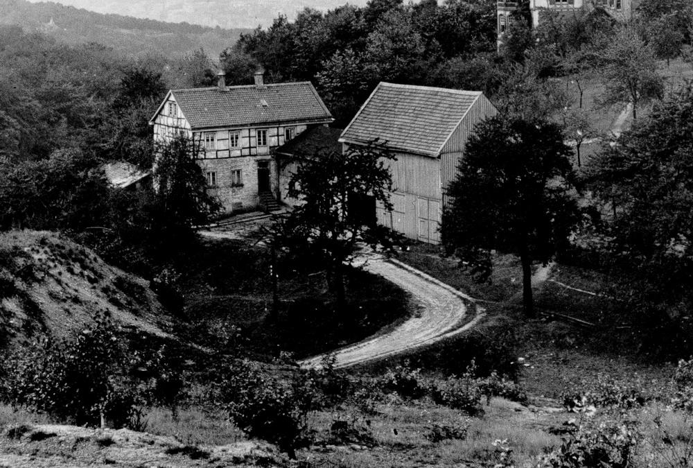 Der alte Hof Am Dausendbusch, unbekantes Aufnahmejahr
