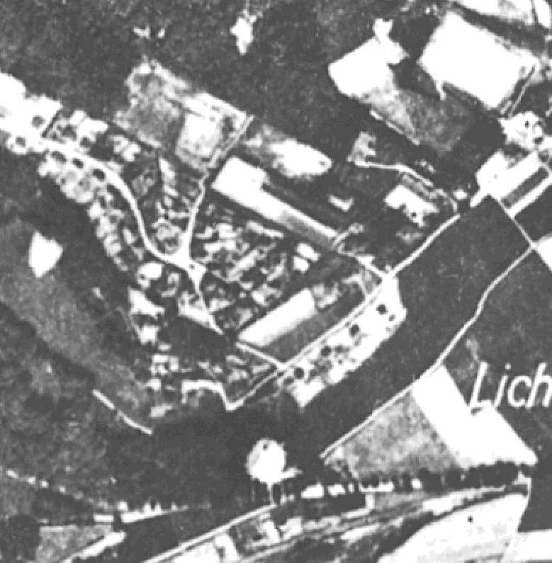 Luftbild aus dem Jahr 1937
